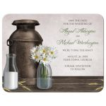 Save the Date Cards - Rustic Dairy Farm