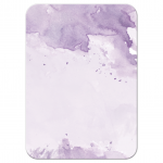 Light Purple Watercolor Response RSVP Card