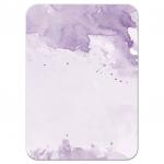 Light Purple Watercolor Response RSVP Card