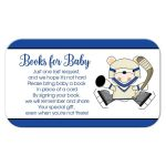 Polar Bear Hockey Books for Baby Enclosure Card