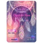 Dreamcatcher Baby's 1st Birthday Invitation
