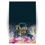 Fairytale Bat Mitzvah Thank You Card