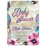Boho Bohemian Baby Shower - Festival Mama