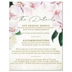 Pretty Blush Floral Details Cards by The Spotted Olive