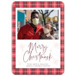 Merry Christmask Holiday Card by The Spotted Olive