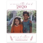 We Survived The Chaos of 2020 Holiday Card by The Spotted Olive
