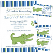 unique baby shower invitations and matching stationery for girls and boys