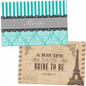 a selection of recipe cards