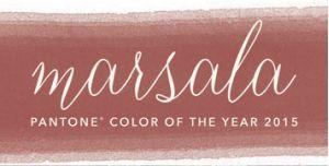 marsala color inspiration