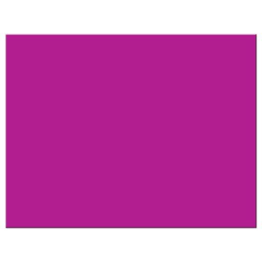 Bat Mitzvah RSVP card - Modern Purple Typography