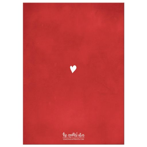 Hugs & Kisses and Valentine Wishes Photo Valentine's Day Cards back
