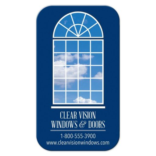 Business Card - Arched Window Installation