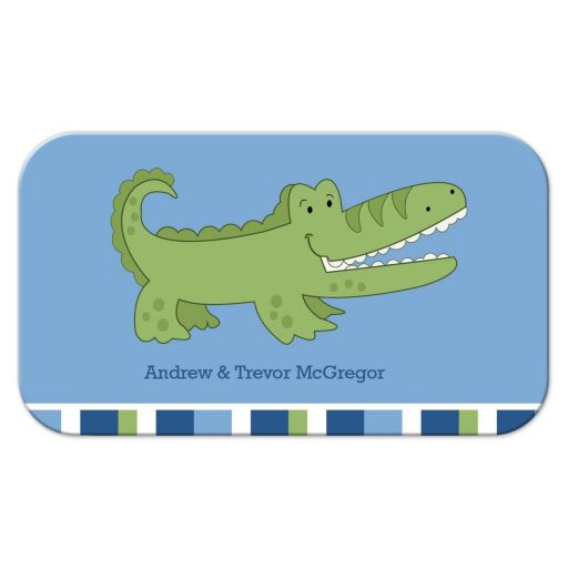 Alligator Mommy or Daddy Contact Card