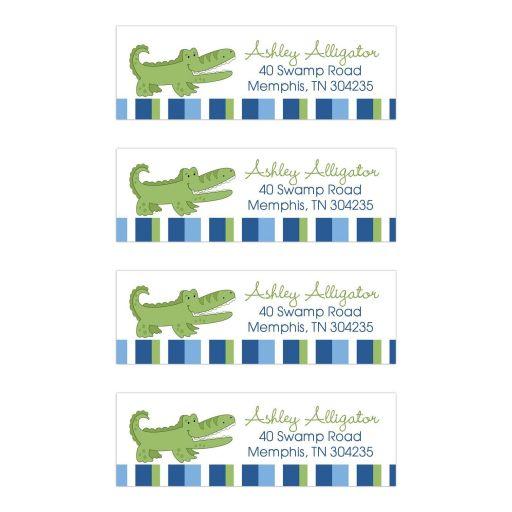 Alligator Address Mailing Labels