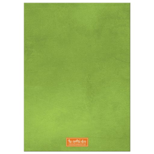 Lucky Clover St. Patrick's Day Party Invitations back