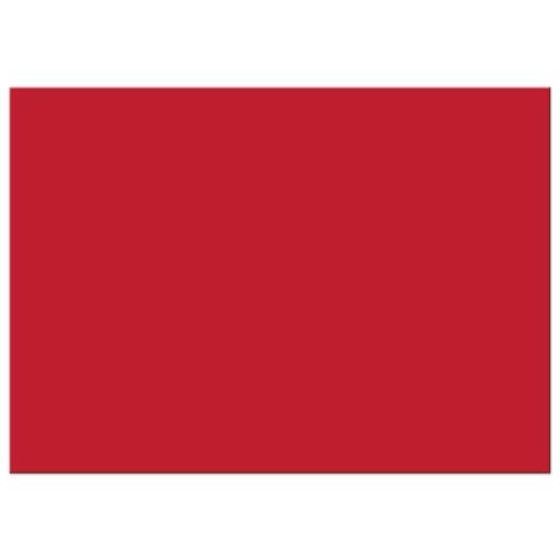 Graduation Photo Announcement - Red Typographic Ornamental