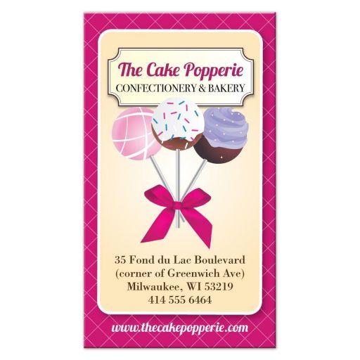 Business Card - Cake Pop Baker