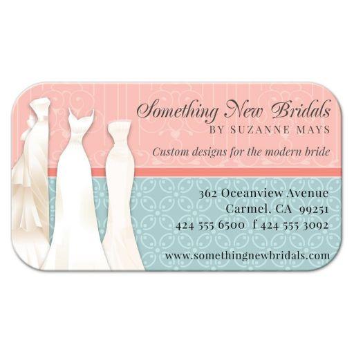 Business Card - Bridal Gown Designer Retailer