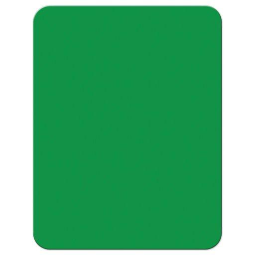 Green back of Saint Patty's day invitation.