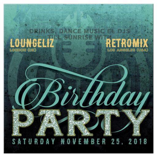 Vintage Retro Music Birthday Party