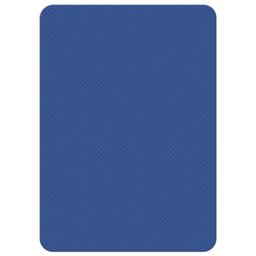 Baby Shower invitation - Dark Blue Football Field