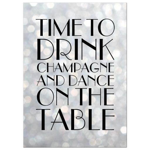 Silver Real Time Quote: Silver 1920's Time To Drink