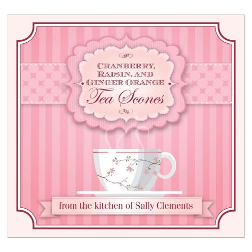 Kitchen Label - Pink Tea Party