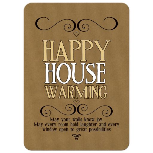 Happy housewarming wishes card What is house warming