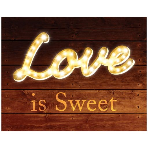 Love is Sweet Barn Board