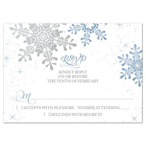 wedding reply card