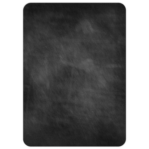 Graduation Party Invitation - Black Chalkboard Circle Photo Pink Accents