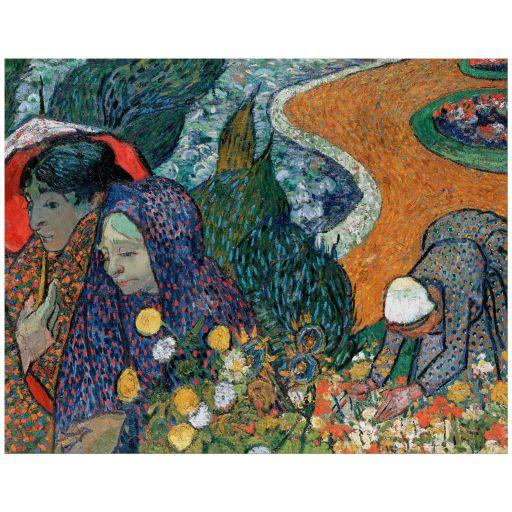 11x14 Wall Art Reproduction of Van Goghs Memory of the Garden at Etten