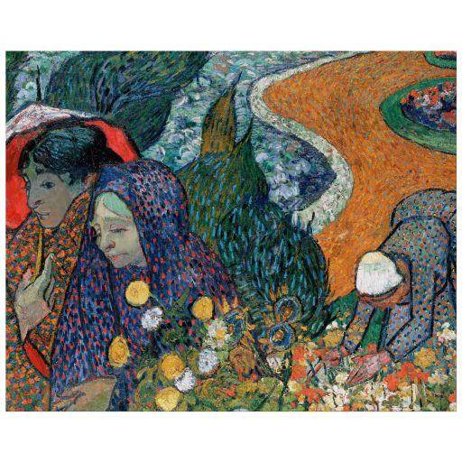 8x10 Wall Art Reproduction of Van Gogh's Memory of the Garden at Etten