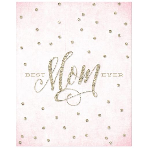 Best Mom Ever Mother's Day Art Print