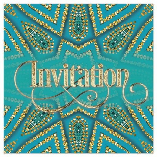 eastern wedding invitation