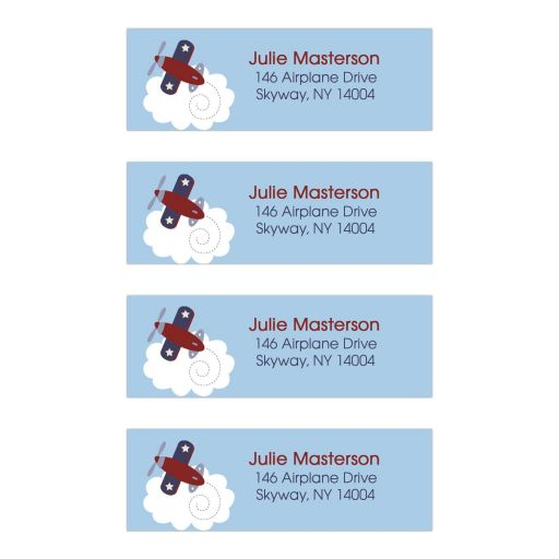 Zooming Along Address Labels