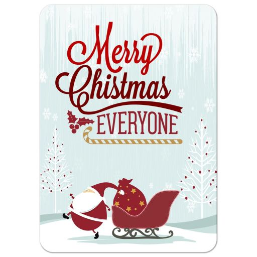 Santas Special Delivery Photo Template Holiday Card