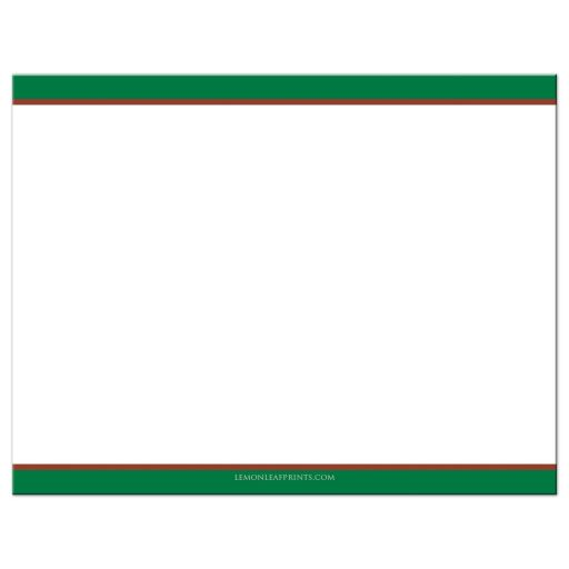 Best affordable tennis theme Bar Mitzvah or Bat Mitzvah thank you card with tennis ball, tennis racket and green, brown and white colors of a tennis court.