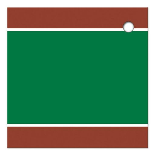 Best affordable tennis theme Bar Mitzvah or Bat Mitzvah thank you tag with tennis ball and green, brown and white colors of a tennis court.