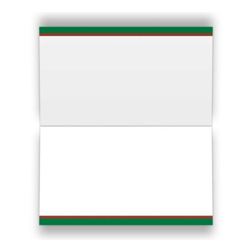 Great tennis theme Bar Mitzvah or Bat Mitzvah place card or escort card with tennis ball, tennis racket and green, brown and white colors of a tennis court.