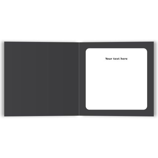 Personalized text inside tennis themed Bar Mitzvah thank you card