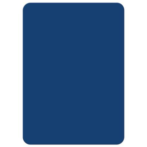 Modern Typography Blue Bar Mitzvah invitation