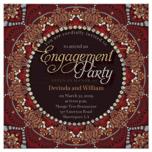 Exotic Bohemian + Indian Fusion Engagement