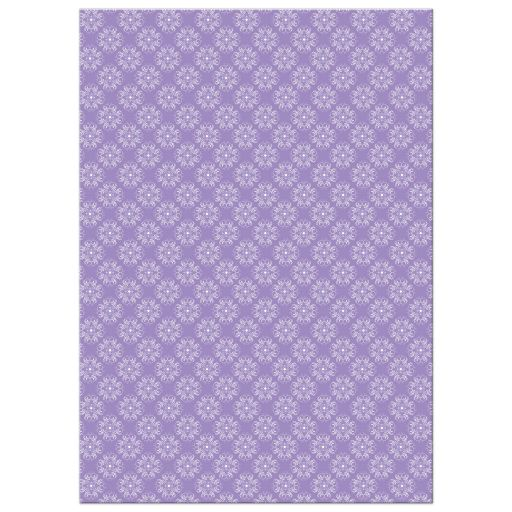 Modern lilac purple, black, white and grey damask pattern baby shower invitations with silhouette of a pregnant woman.