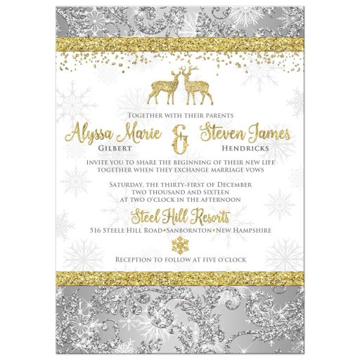Deer Wedding Invitations for perfect invitations ideas