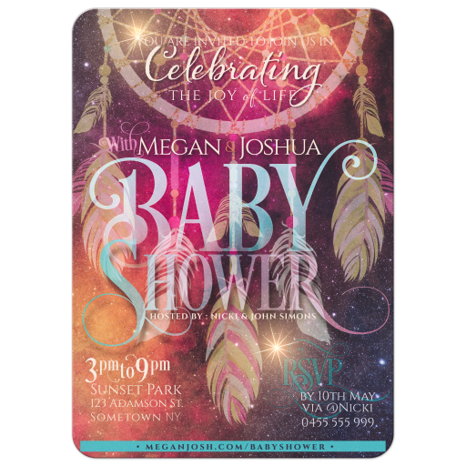 Bohemian Dreams | Dreamcatcher Baby Shower