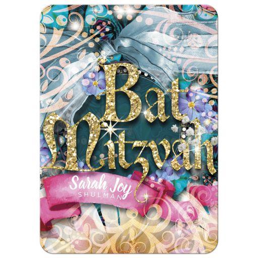 Fairytale Dreams Bat Mitzvah Invitation
