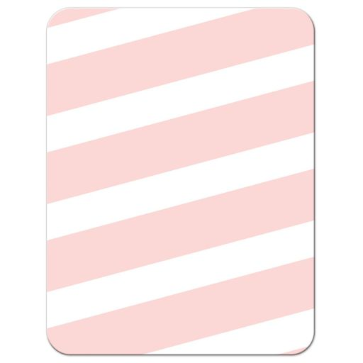 Pink Stripes & Gold Confetti Bat Mitzvah Reception Cards - Back