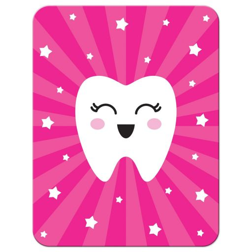 Kawaii tooth note card