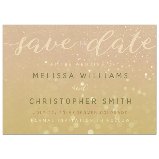 Save the Date Photo Announcement Card